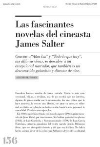 Las fascinantes novelas del cineasta James Salter