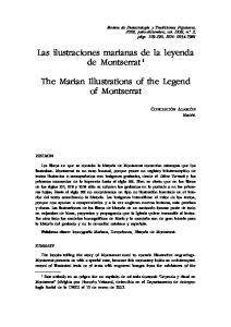 Las ilustraciones marianas de la leyenda de Montserrat 1. The Marian Illustrations of the Legend of Montserrat