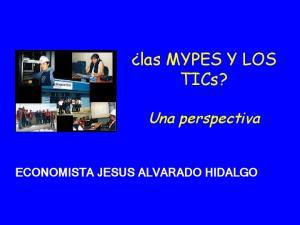 las MYPES Y LOS TICs?