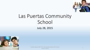 Las Puertas Community School