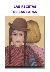 LAS RECETAS DE LAS PAPAS