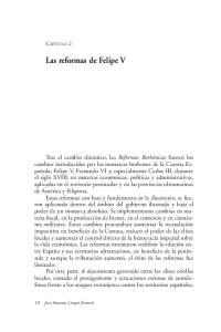 Las reformas de Felipe V