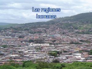 Las regiones humanas
