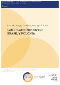 LAS RELACIONES ENTRE BRASIL Y POLONIA