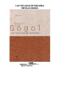 LAS VELADAS DE DIKANKA NICOLAI GOGOL