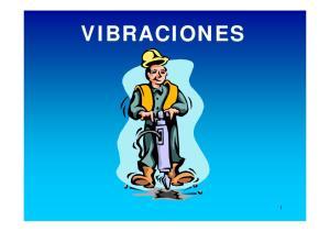 LAS VIBRACIONES SE CARACTERIZAN POR LAS SIGUIENTES VARIABLES: