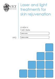 Laser and light treatments for skin rejuvenation