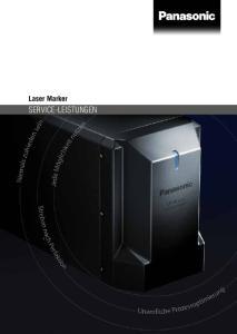 Laser Marker SERVICE-LEISTUNGEN