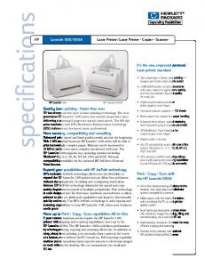 Laser Printer Copier Scanner