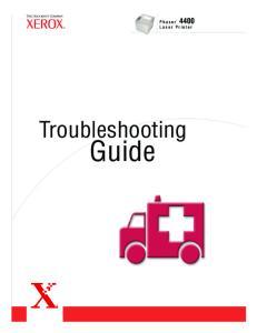 Laser Printer. Troubleshooting. Guide