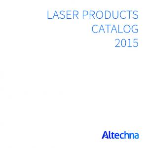 Laser Products catalog 2015