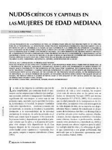LAsMUJERES DE EDAD MEDIANA