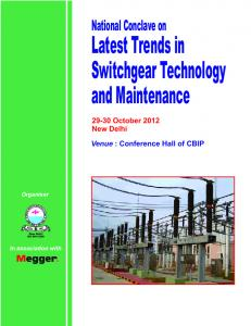 Latest Trends in Switchgear Technology and Maintenance
