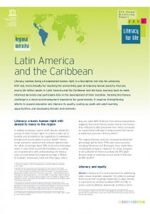 Latin America and the Caribbean1