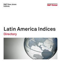 Latin America Indices. Directory