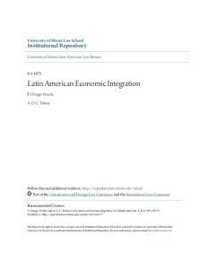 Latin American Economic Integration