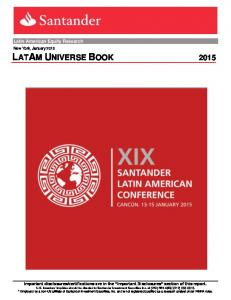 Latin American Equity Research