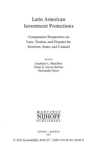 Latin American Investment Protections