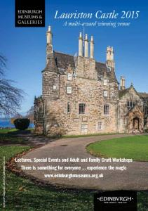 Lauriston Castle 2015