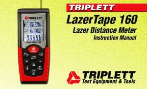 LazerTape 160 Users Manual