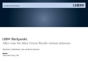 LBBW Blickpunkt. Alles was Sie über Green Bonds wissen müssen