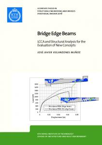 LCCA and Structural Analysis for the Evaluation of New Concepts