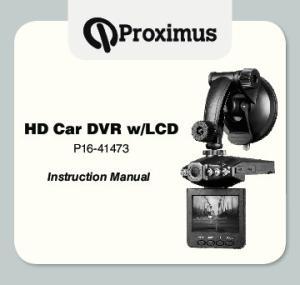 lcd P Instruction Manual