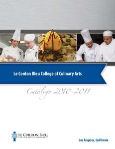 Le Cordon Bleu College of Culinary Arts