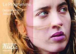 Le Programme. December 2016 January 2017