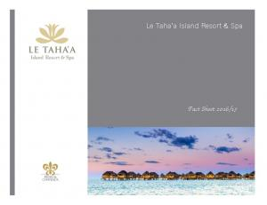 Le Taha a Island Resort & Spa