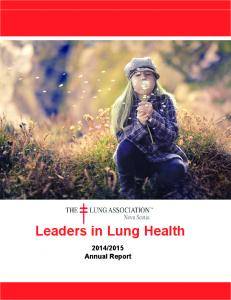 Leaders in Lung Health