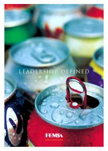LEADERSHIP DEFINED Annual Report