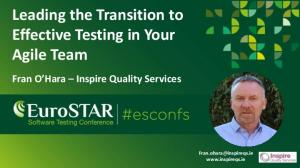 Leading the Transition to Effective Testing in Your Agile Team