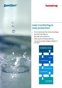 Leak monitoring & Leak protection