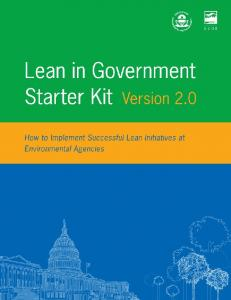 Lean in Government Starter Kit