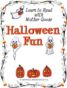 Learn to Read with Mother Goose. Halloween Fun. Leslie Wilson,