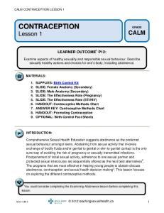LEARNER OUTCOME 1 P12: