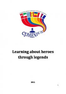 Learning about heroes through legends