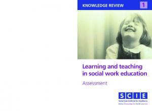 Learning and teaching in social work education