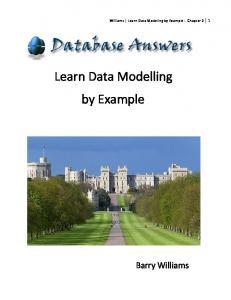 Learning Data Modelling by Example
