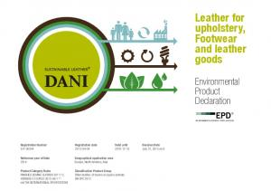 Leather for upholstery, Footwear and leather goods