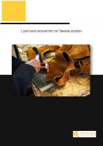Leather industry of Bangladesh