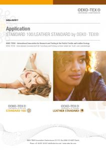 LEATHER STANDARD by OEKO TEX