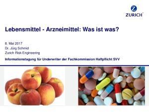 Lebensmittel - Arzneimittel: Was ist was?
