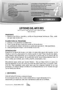 LECCIONES DEL ARCO IRIS