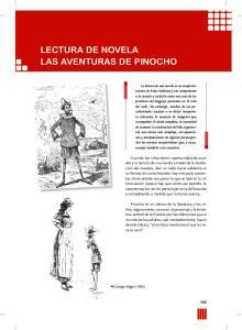 lectura de novela las aventuras de Pinocho 143