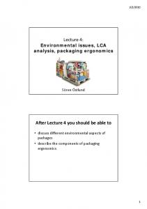 Lecture 4: After Lecture 4 you should be able to