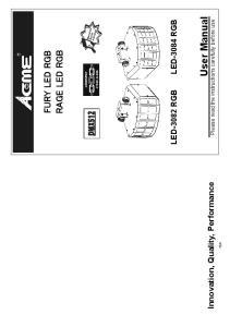 LED-3082 RGB LED-3084 RGB. Please read the instructions carefully before use RAGE LED RGB FURY LED RGB. Innovation, Quality, Performance 15A