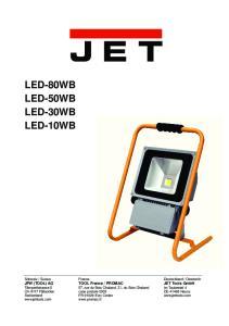 LED-80WB LED-50WB LED-30WB LED-10WB