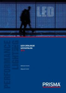 LED CATALOGUE LED KATALOG 2012